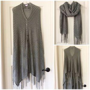 LuLaRoe | Mimi Open Weave Sweater Scarf